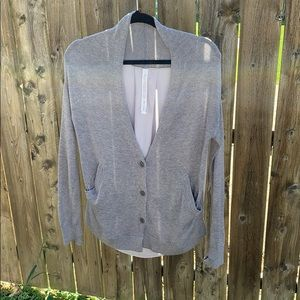 Lululemon Athletica Cardigan in the Front